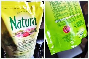 Mayonesa Natura Libre de Gluten