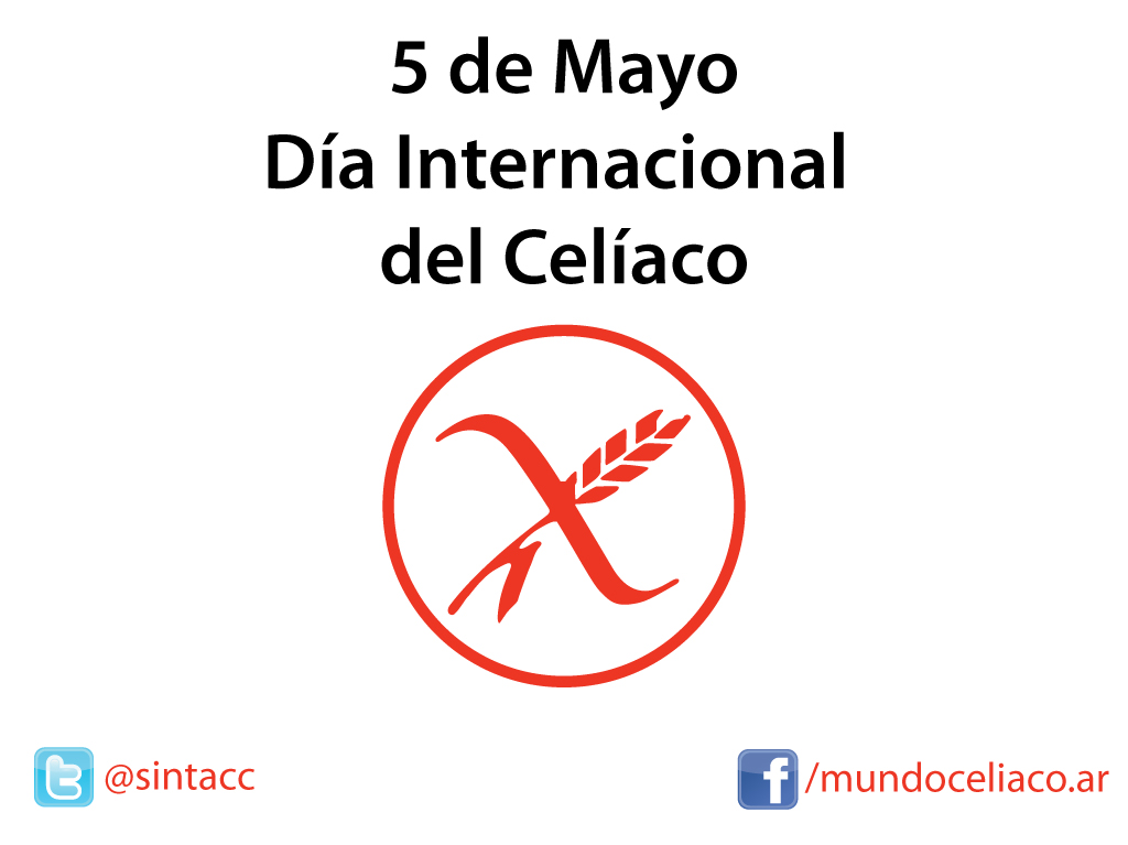 5 de Mayo Día Internacional del Celíaco